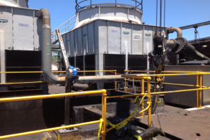 Annual Cleaning of Plant Primary Cooling Tower